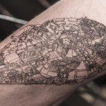 Детализированные черно-белые татуировки корейского художника Oozy