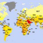 Когда женщины получили право голоса в разных странах мира (карта)