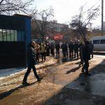 В полицию поступило сообщение о бомбе в троллейбусном парке №1