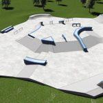 В мэрии Кишинева представили проект спорткомплекса SkatePark в Долине Роз