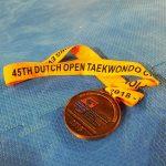Молдавская тхэквондистка Ана Чукиту взяла бронзу на чемпионате в Нидерландах