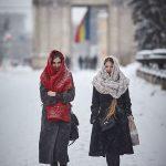 Снег в городе в фотографиях Романа Рыбалева