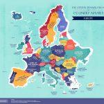 На карте стран мира с буквальным переводом названий Молдова значится, как «Темная река»