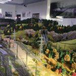 В Кишиневе открылась выставка миниатюрных поездов