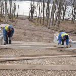 Ремонтные работы в парке Валя Морилор идут полным ходом