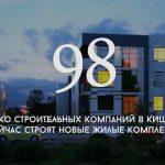 Цифра дня: Сколько строительных компаний в Кишиневе сейчас строят новые жилые комплексы