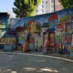 В Кишинёве новый стрит арт, авторами которого стали студенты «Крянгэ»