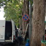 В Кишиневе продолжат освобождать тротуары от автомобилей