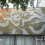 В Кишиневе разрушается еще одна мозаика — на здании Союза писателей