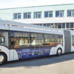 Белорусский электробус, циркулировавший в Кишиневе, признали нерентабельным и отправили обратно