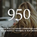 Цифра дня: Какова суммарная длина роста волос у человека за всю жизнь