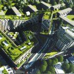 В Кишиневе планируют построить дом с парком на крыше