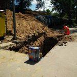 Фото дня: Безопасное ограждение ям в Кишиневе