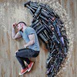 10+ фотоинсталляций из книг румынского блогера Джеймса Тревино