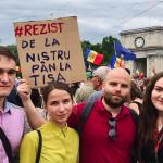 В воскресенье в Кишинёве прошли протесты оппозиции