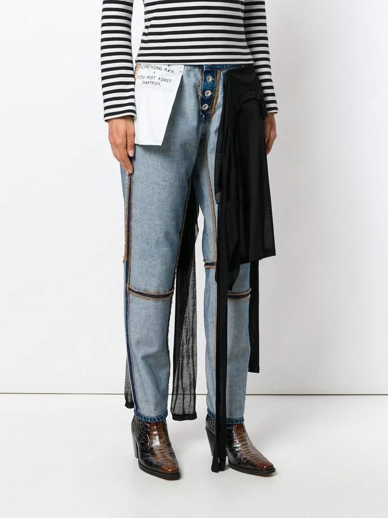 Новый модный тренд - джинсы наизнанку - Locals 79e0211e0419f